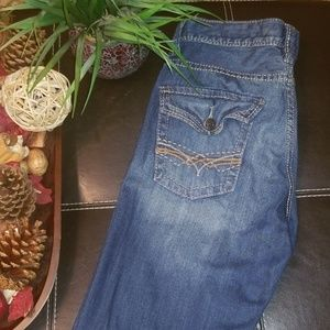 Seven7 Slightly Distressed Jeans